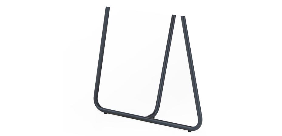 Bein M | Stahl | schwarz